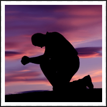 On Knees in Prayer