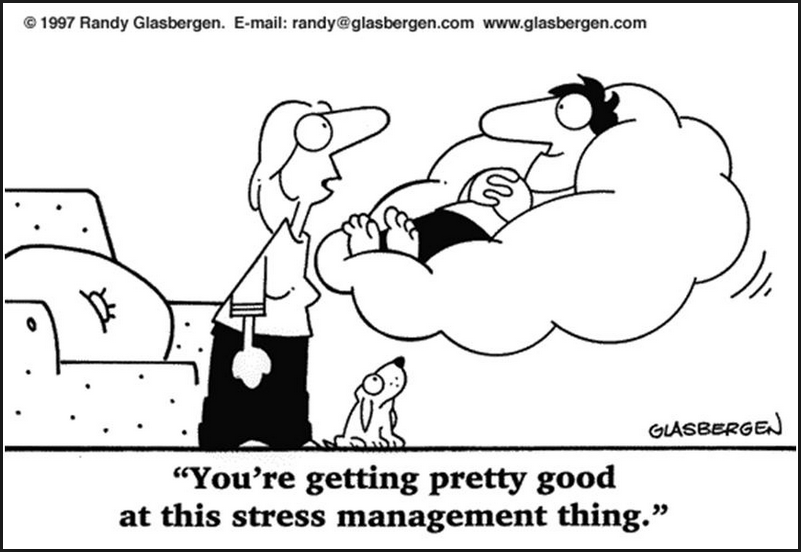 letting go of stress  worry and the unnecessary